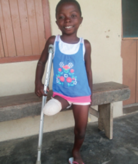 Little girls like Gifty can come to our school without fear of being persecuted by the other children or even the teachers, as happens in other schools.
